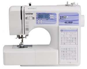 The Brother HC 1850 is a perfect choice for anyone looking for an inexpensive computerized sewing machine
