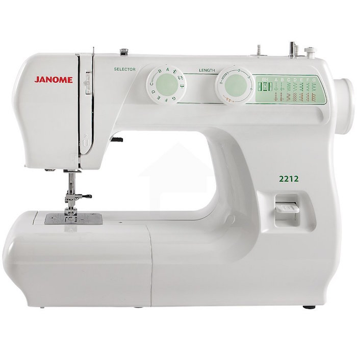 The 2212 Model is one of Janome's top rated sewing machines