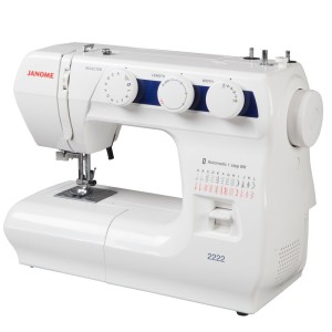 Top rated simple sewing machine - Janome 2222 Review