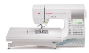 The Singer Quantum Stylist is a fantastic quilting machine
