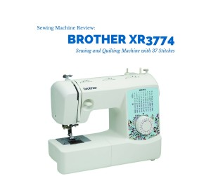 The Brother XR3774 is an easy to use sewing and quilting machine for your home