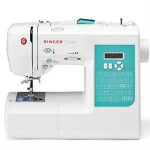 The Singer 7258 is a computerized sewing machine that is easy enough for a beginner to use