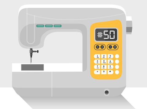 electronic sewing machine