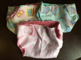 DIY Baby Doll Diapers