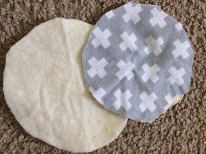 DIY Reusable Nursing Pads