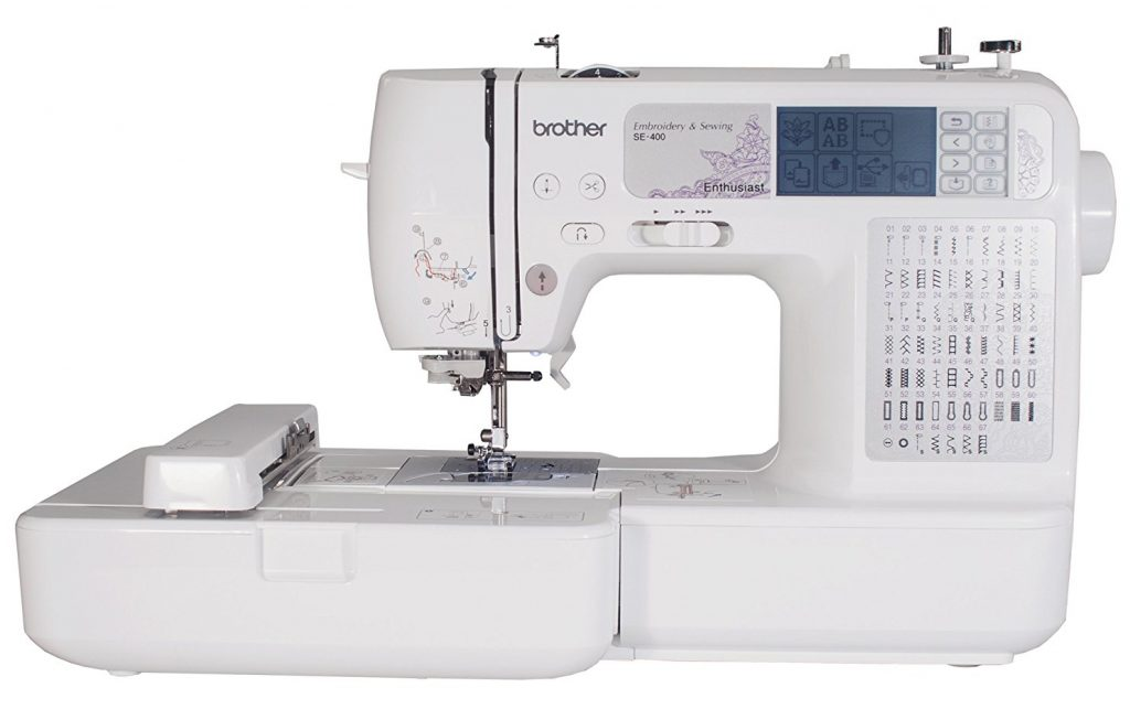 Review Brother SE4000 Combination Computerized Sewing And 400×400 Unique Fix Brother Sewing Machine