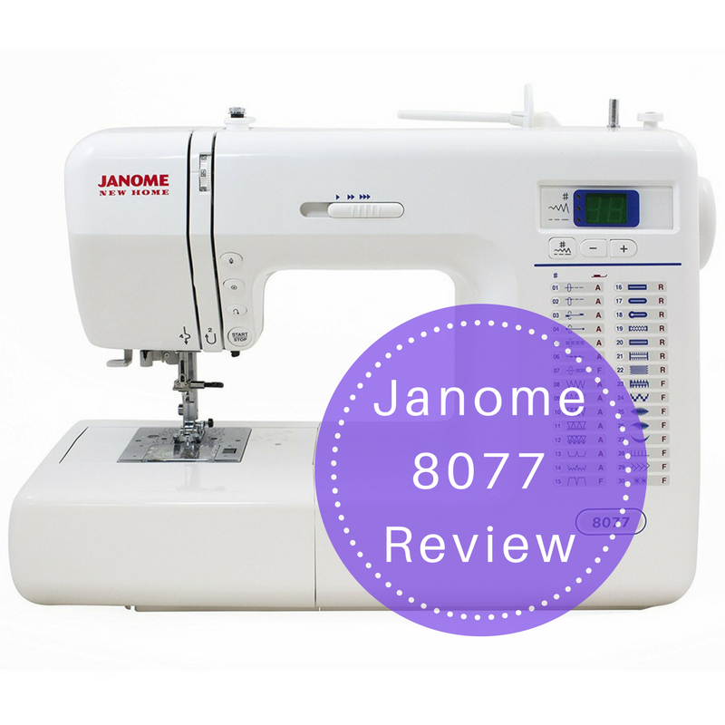Janome 8077 sewing machine review - Machine a coudre janome 8077 ...