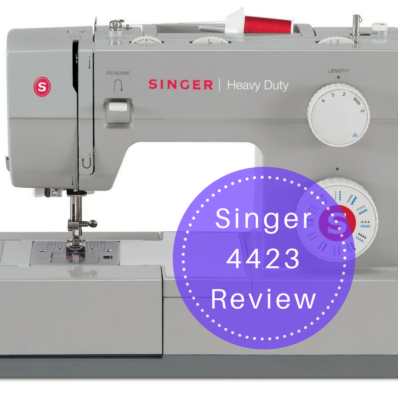 Singer 40 Sewing Machine Review TheFallenHem Adorable Singer 4423 Heavy Duty Sewing Machine