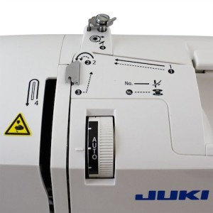 Another view of the top rated Juki HZL-K65