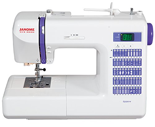The Janome DC2014 is a dependable computerized sewing machine