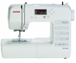 The Janome DC1050 is an easy to use Computerized sewing machine that will last a lifetime