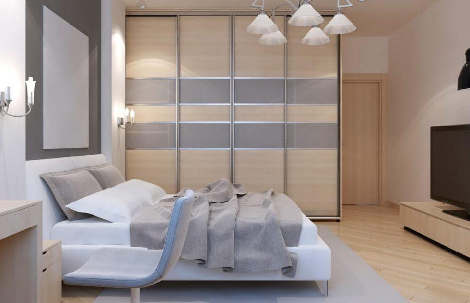 Master bedroom art deco style