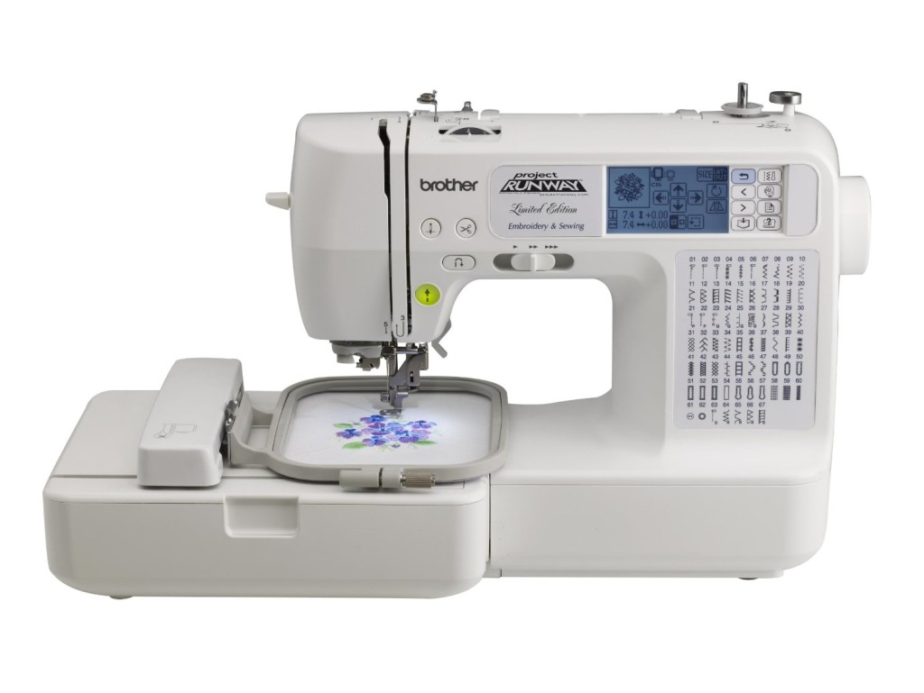 Project Runway Embroidery Machine by Brother