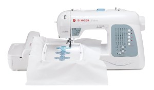 Singer's Futura XL-400 is a precise embroidery sewing machine that will give you high end results