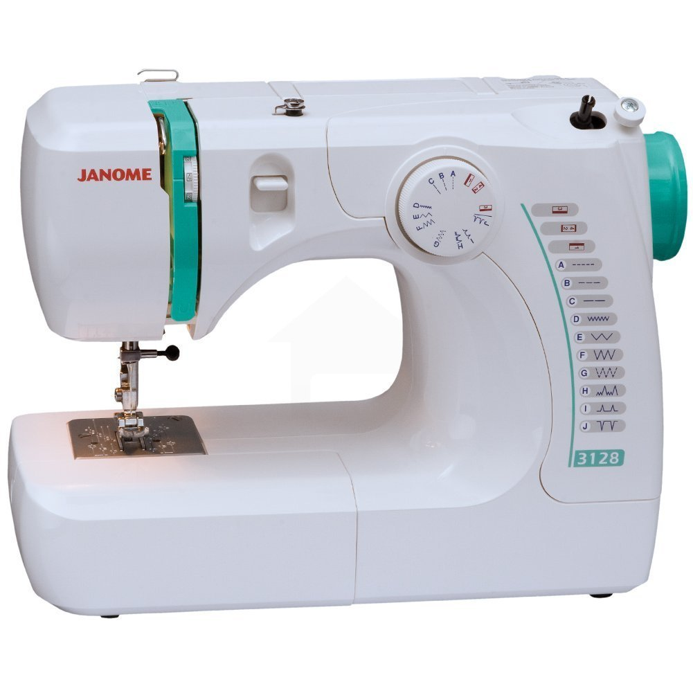 The Janome 3128 is a top rated mechanical sewing machine