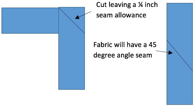 Step 4: How to sew 3x3 quilt