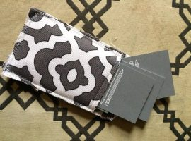 Easy Sewing Project: Business Card Holder
