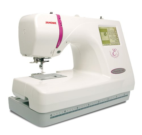 Janome Memory Craft Embroidery Machine