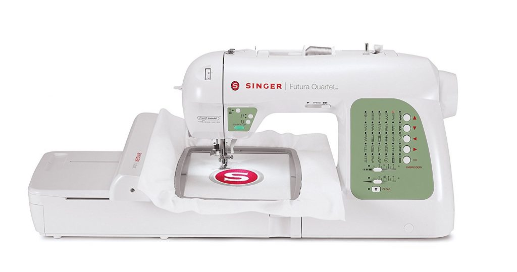 Singer SEQS 6000 Futura Quartet Sewing Embroidery Machine