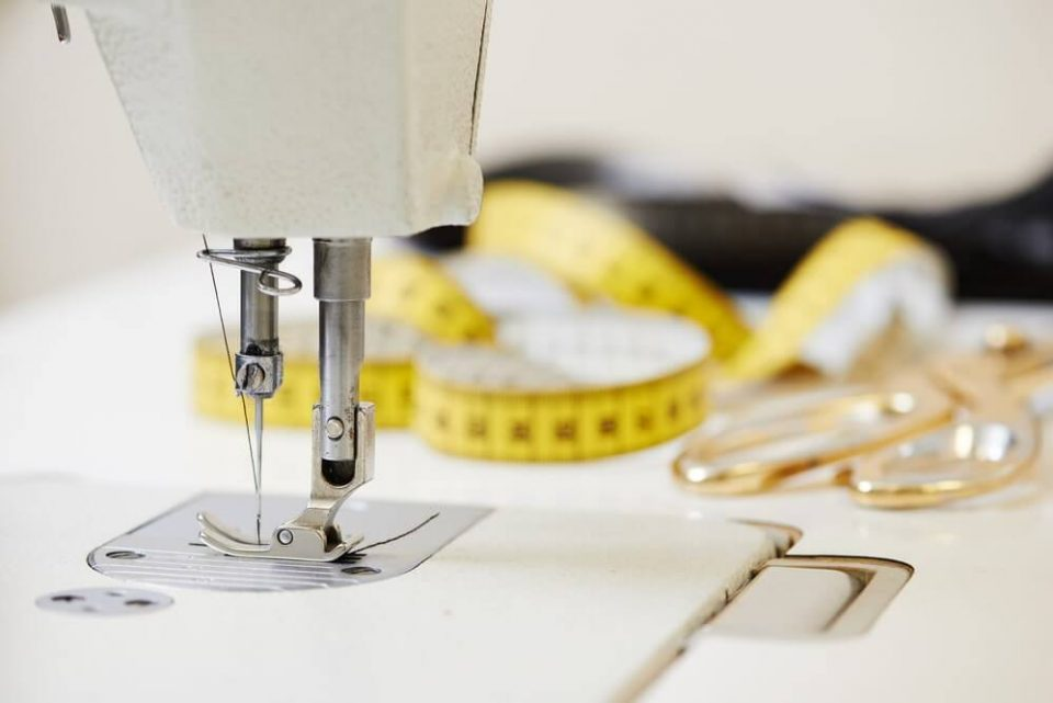 Tailor or sewing equipment – stock image